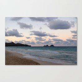 Beachside Mornings Canvas Print