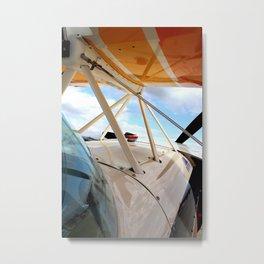 A Pilot's View Metal Print