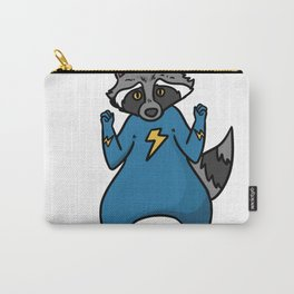 superhero badger Carry-All Pouch