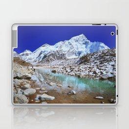 Mount Nuptse view and Mountain landscape view in Sagarmatha National Park, Nepal Himalaya. Laptop & iPad Skin