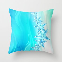 Starfish G217 Throw Pillow