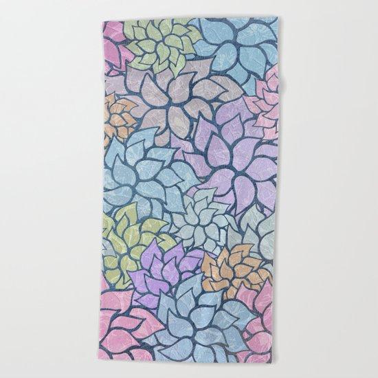 Summer Pattern #5 Beach Towel