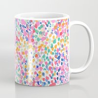 pastel Mugs featuring Lighthearted (Pastel) by Jacqueline Maldonado