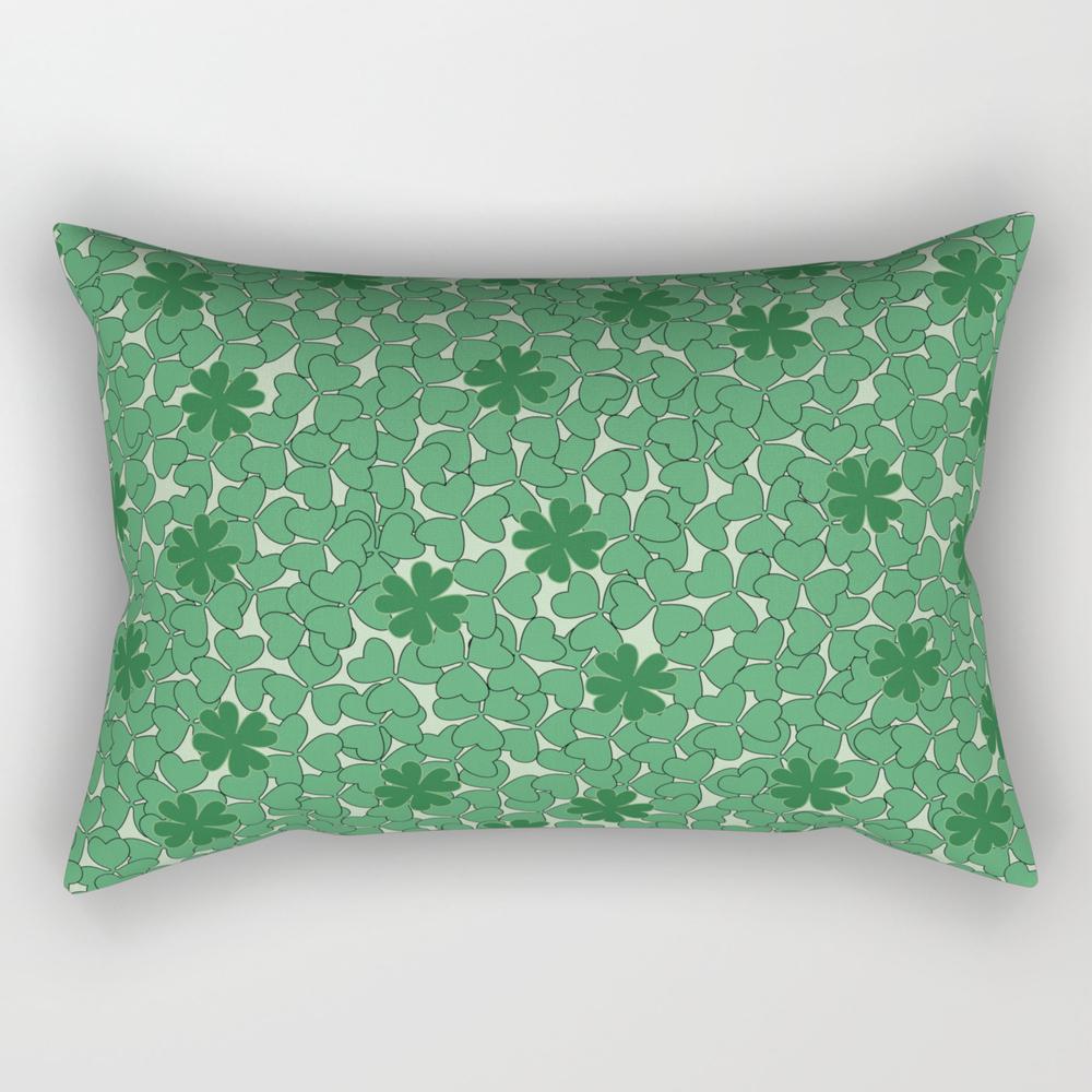 Lucky You, Lucky Me Rectangular Pillow RPW940455
