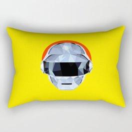 Daft Low Poly Punk Rectangular Pillow