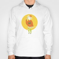 sushi Hoodies featuring Sushi by Patricia Santos