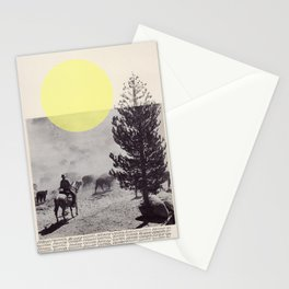 Many a trip continues long after movement in time and space have ceased.  Stationery Cards