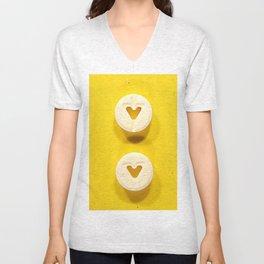 Yellow Valium Unisex V-Neck
