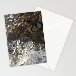 Naturals by Nikki - Frozen Pebbles Stationery Cards