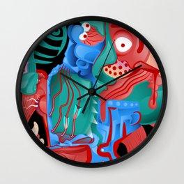 Pacman Details Wall Clock