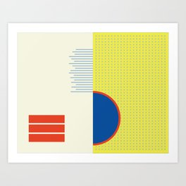 NonFunctional Grid 3 Art Print