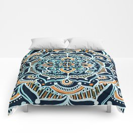 Bohemian Zen Mandala Comforters
