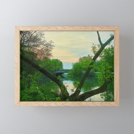 Elizabeth Park Entry Framed Mini Art Print