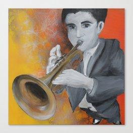 Trumpetist Canvas Print