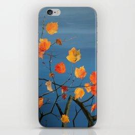 sound of a windblown leaf iPhone Skin