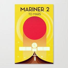 Mariner 2 Space art Canvas Print