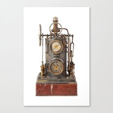 Vintage Clock Canvas Print
