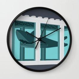 Hirst's Shark Tank Wall Clock