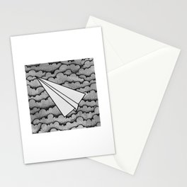 fly like paper Stationery Cards
