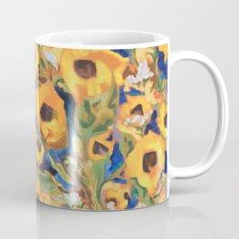 Wild Sunflowers Pattern Coffee Mug