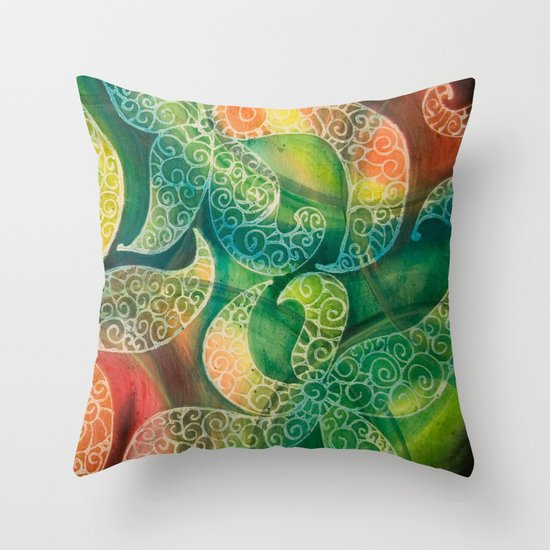 Starfish Dance Throw Pillow