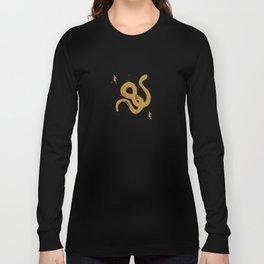 Golden Serpent Long Sleeve T-shirt