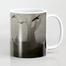 Gothic Crows Eerie Ceremony Coffee Mug