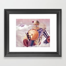 Shoulders of Giants Framed Art Print