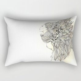animalia lion Rectangular Pillow