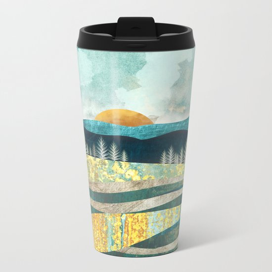 Late Summer Metal Travel Mug