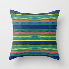 Bold Stripes Throw Pillow