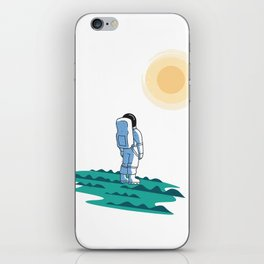 Space Man iPhone Skin