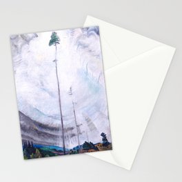 Emily Carr - Scorned as Timber, Beloved of the Sky - Canada, Canadian Oil Painting - Group of Seven Stationery Cards