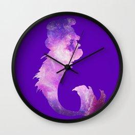 Galaxy Mermaid 5 (Midnight) Wall Clock