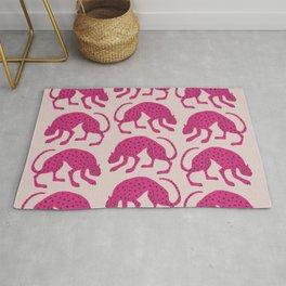 Wild Cats - Pink Rug