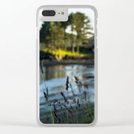 Small Alaskan Wildflowers pt.2 Clear iPhone Case