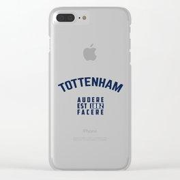 Tottenham - Spurs - Hotspurs - Premier League - Champions league - Soccer T-Shirt Clear iPhone Case