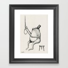 'I've Decided Not To Stay' Framed Art Print