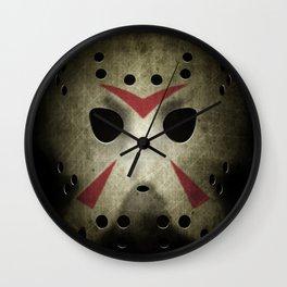 Hockey Mask Wall Clock