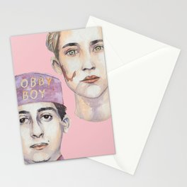 Agatha and Zero Stationery Cards