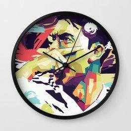 Paulo Dybala on WPAP Pop Art Wall Clock