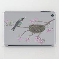 hummingbird iPad Cases featuring Hummingbird by Nancy Smith