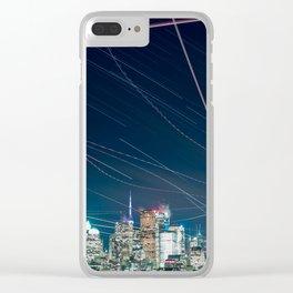 Urban Nights, Urban Lights #1 Clear iPhone Case