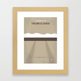 No189 My Thelma and Louise Framed Art Print