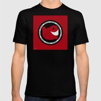 NARWHAL Mens Fitted Tee Black MEDIUM
