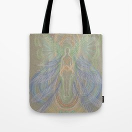 New Beginning Angel Tote Bag