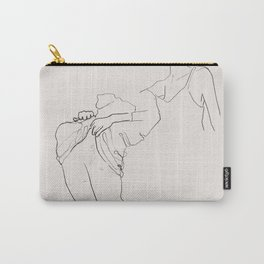 Peeling Layers Carry-All Pouch