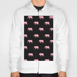 pink elephants . Art Hoody