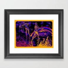A Walk in The Park* Framed Art Print