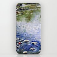 monet iPhone & iPod Skins featuring Missing Monet by Olya Krasavina